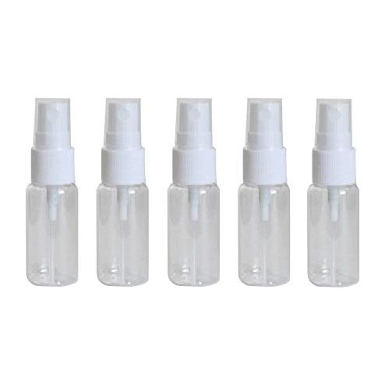 子孫独特のデマンドhappy fountain スプレーボトル 15ml 5本セット プラスチック容器 アトマイザー