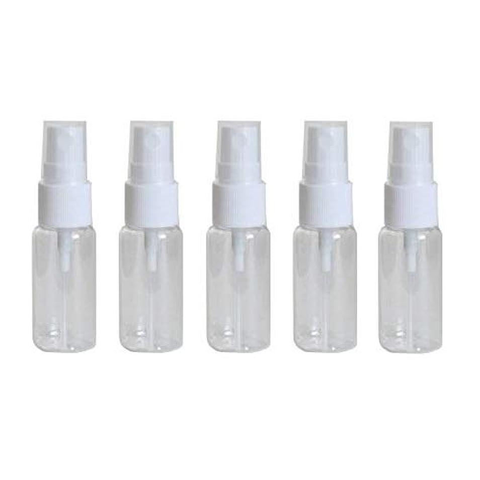 達成可能規範かかわらずhappy fountain スプレーボトル 15ml 5本セット プラスチック容器 アトマイザー