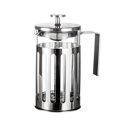 Milisten Cafetera: Cafetera de Acero Inoxidable con Aislamiento de 350Ml Cafetera con Pantalla de Doble Filtro