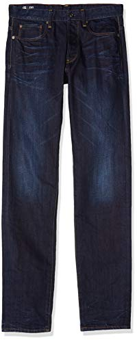 G-STAR RAW Herren 3301 Straight Jeans, Dk Aged 6576-89, 30W/32L