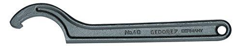 GEDORE 40 58-62 Hakenschlüssel, DIN 1810 Form A, 58-62 mm