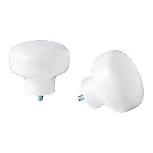 Ikea FÖRRÄTT Endstücke für Gardinenstangen; in weiß; (4,6cm); 2 Stück