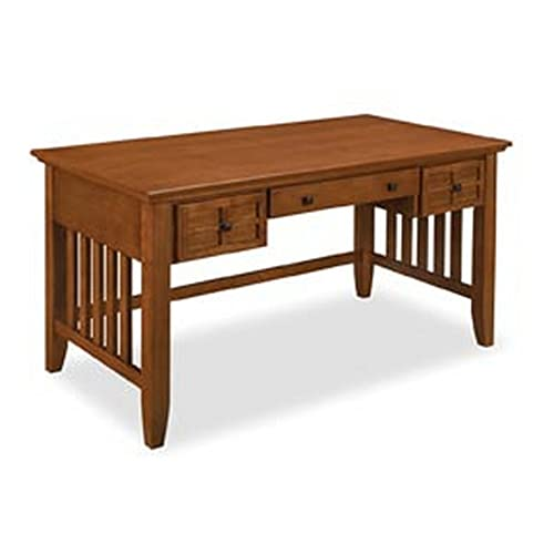 Big Sale Home Styles 5180-15 Arts and Crafts Executive Desk, Cottage Oak Finish