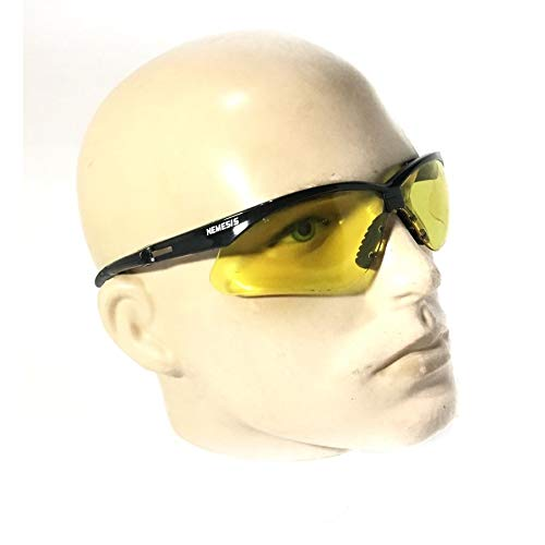 Oculos Nemesis Amarelo P Esportes Noturnos Ciclismo Airsoft