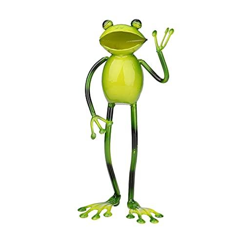 Estatua De Jardín, Figura De Tortugas, Linda Escultura De Animal Con Cara De Rana Y Tortugas Con Luces LED Solares Para Decoraciones De Interior Al Aire Libre, Adornos De Césped De Patio, Arte De Jard