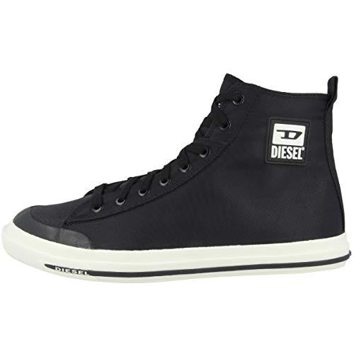 Diesel Zapatillas Hombre, color Negro, talla 42.5 EU