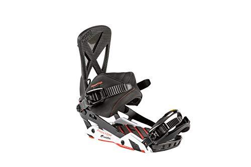 Nitro Snowboards Herren Phantom Carver Bdg'19 Premium Freeride Freestye Highend Carving Snowboardbindung Carbon Bindungen, Mehrfarbig, M