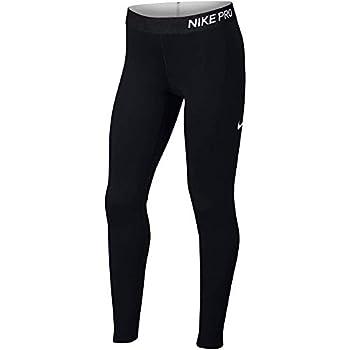 Nike Girl s Pro Dri-FIT Warm Training Tights  Black Medium