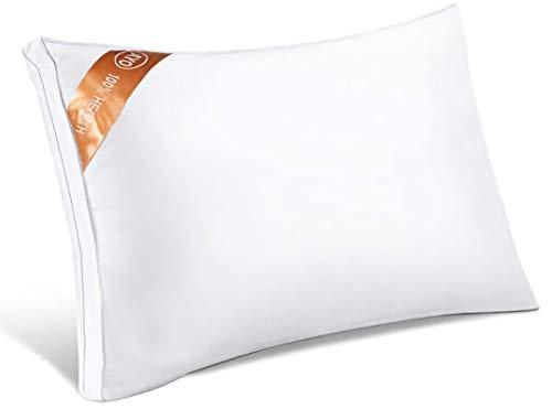 AYO 枕 通気性 ホテル仕様 高反発枕 横向き対応 丸洗い可能 立体構造43x63cm 家族のプレゼント ホワイト