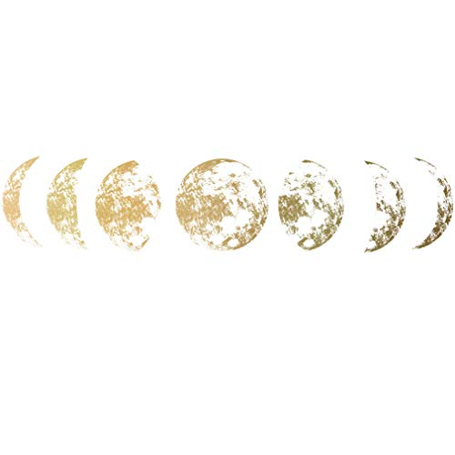 unknow Sawyerda - Adhesivo decorativo para pared, diseño de luna de guardería