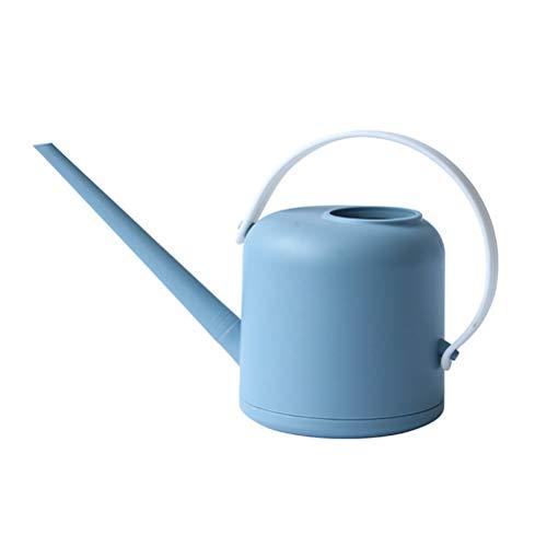 Urisgo - Regadera de plástico para regar Bonsai - Regadera de jardín con boquilla larga para plantas y flores de 1,7 litros