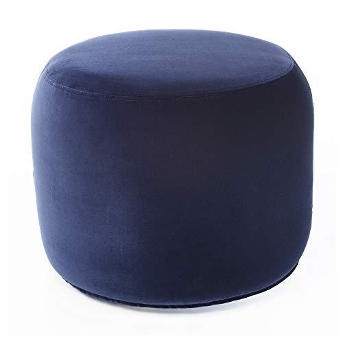 STOCKHOLM 2017 puff 50 x 42 x Ø50 cm Sandbacka mörkblå