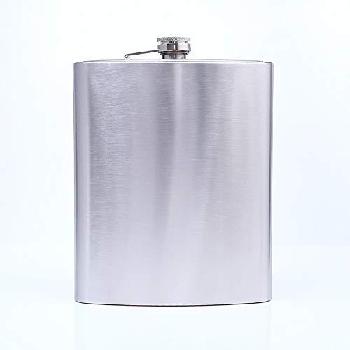 Edelstahlkrug Tragbar Tragbarer Wasserkocher Outdoor Reisekrug Gesäß brennende Flasche 18 Unzen