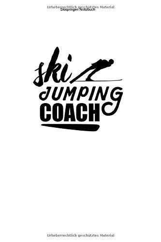 Skispringen Notizbuch: 100 Seiten | Punkteraster | Schanzentisch Geschenk Schanze Springen Ski Sprung Team Trainer Skisprungschanze Springer Skier Wintersport