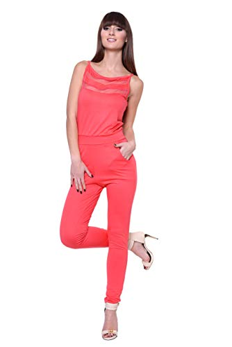 O.X. Dames jumpsuits sportief elegant comfortabel maat S M, 36 38 40 42 44 46, 1079
