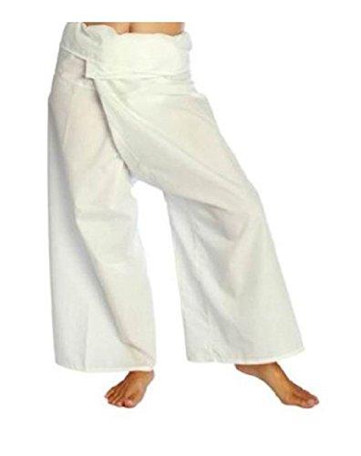 Pantalon Thailandes blanco