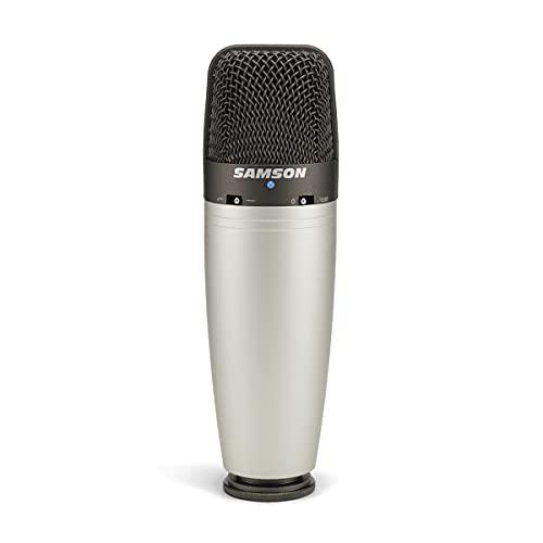 Samson C03 - Microfono Da Studio Professionale Cardioide