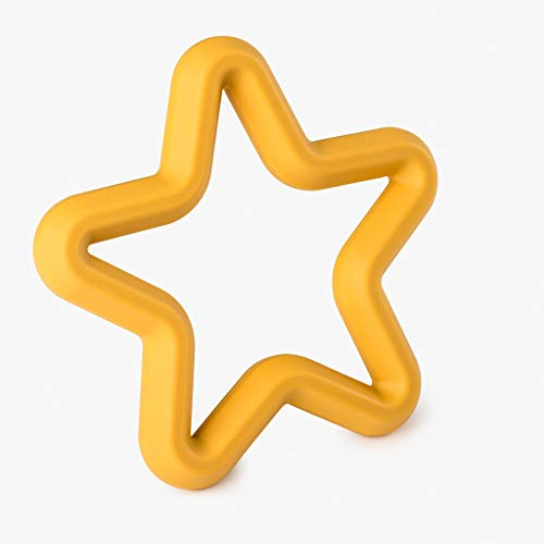 Fox's Felts Star Teether Mosterd Goud