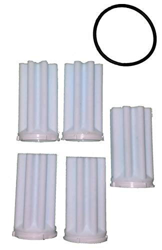 Afriso Siku Filtereinsatz mit O-Ring, Heizölfilter 5er Set Filter 50-75 µm