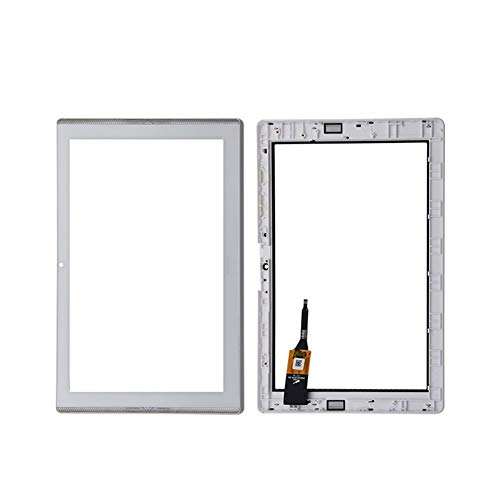 Screen replacement kit Fit For Acer Iconia One 10 B3-A40 Touch Screen Glass Digitizer Panel Front Glass Lens Sensor Repair kit replacement screen (Color : White No Frame)