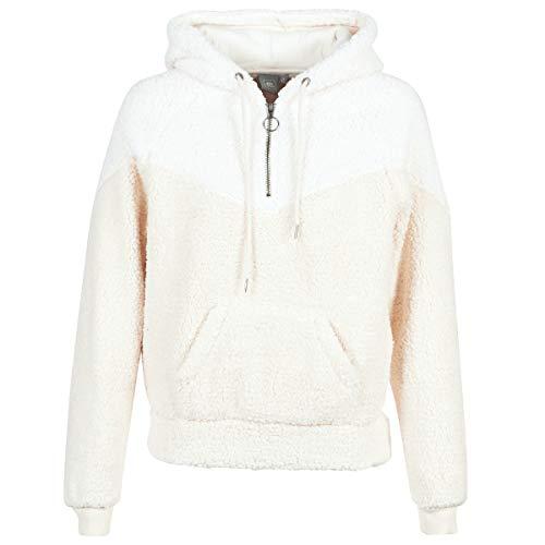 RIP CURL Island Hooded Polar Fleece Sudaderas y Polares Mujeres Beige/Rosa - XL - Polaire