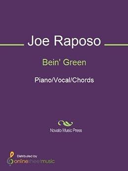 Bein' Green by [Frank Sinatra, Joe Raposo, Kermit The Frog, The Muppets]