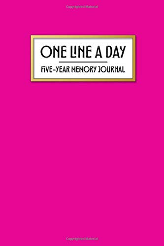 One Line a Day - Five Year Memory Journal: Beautiful Pocket Sized 5-Year Mindful Journal of Personal Memories - Great for New Parents, Marriage, ... Life (4x6 Pocket One Line a Day Journal)