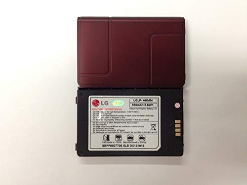 GSParts New LG VX9200 EnV3 LGLP-AHMM RED Maroon Battery 950mAh