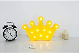 Pengcher Imperial Crown Type LED Indoor Outdoor Decoration Colour Christmas Lights (Yellow) (Color : Yellow, Size : 29x21....