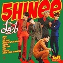 SHINEE - [1 OF 1] 5th Album CD+Photo Book+Photo Card Sealed