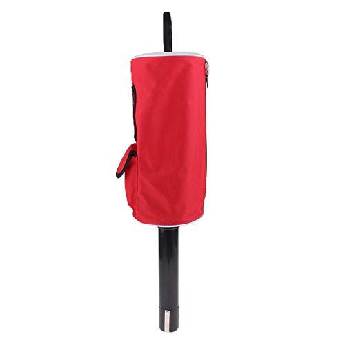 WUQIUYU Tragbarer herausnehmbarer Golftaschen-Picker mit Tasche und T-förmigem Queue