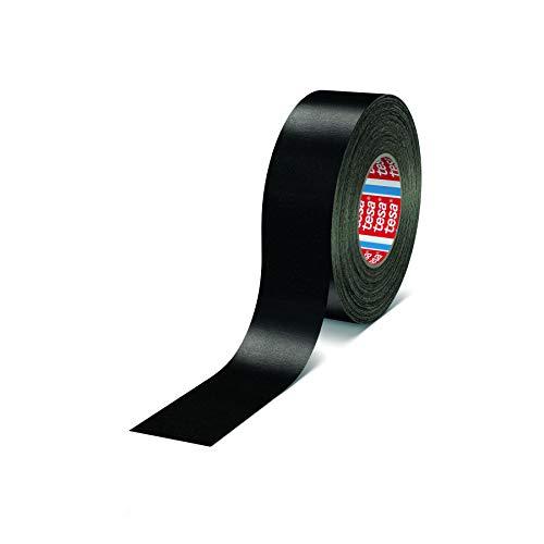tesa band 4651 Premium leistungsstarkes Gewebeband versch. Breiten und Farben (12 mm x 50 m, schwarz)