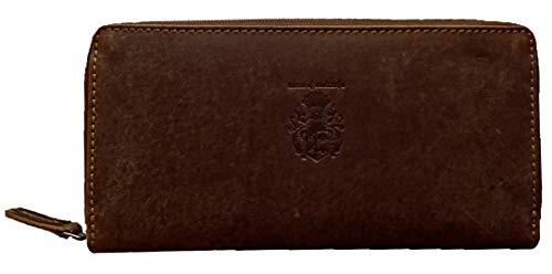 Freiherr von Maltzahn Geldbörse Damen Portemonnaie OPPENHEIMER aus Grassland Leder