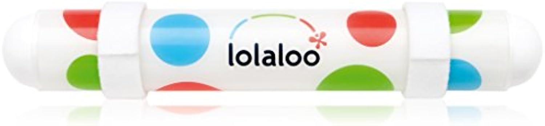 Lolaloo Kinderwagenschaukler, Einschlafhilfe für Babys, schaukelt jeden Kinderwagen, weie Klettbnder