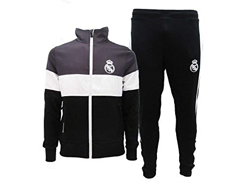 Real Madrid Chándal completo oficial C.F, Negro , M