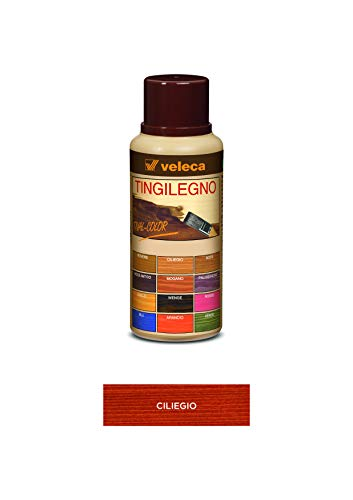 Veleca TIVAL COLOR TINGILEGNO Ciliegio - ml. 250 - TINGENTE PER LEGNO DA INTERNO