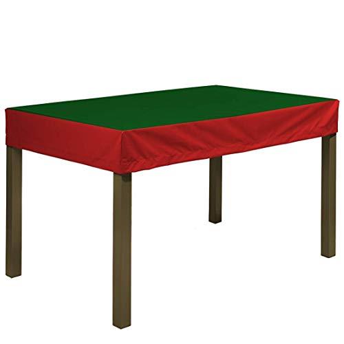 Planesium Premium - Funda protectora para mesa de jardín (180 x 100 x 15 cm), color verde