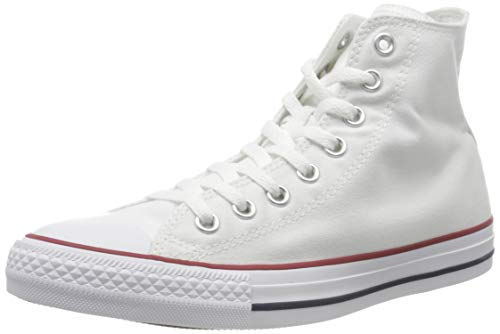 Converse Unisex Chuck Taylor All Star Hi Top Sneaker Optical White 7 B(M) US Women / 5 D(M) US Men