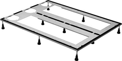 Duravit basisframe voor douchebakken 140x80 cm, in hoogte verstelbaar 8-10 cm - 790185000000000