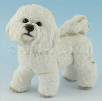Leonardo Collection Bichon Frise Dog Figurine, Ornament - Collectible Gift Boxed Present for Dog Owner