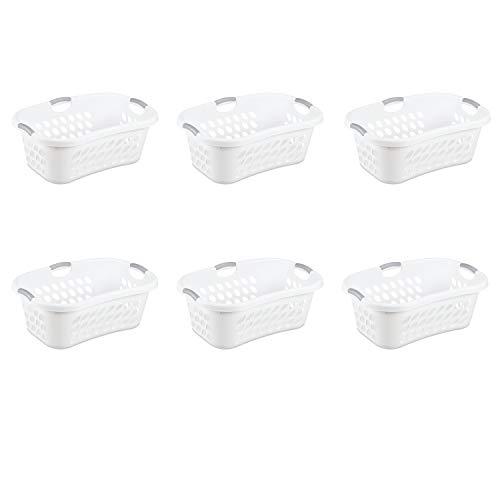 Sterilite 1.25 Bushel Ultra™ HipHold Laundry Basket White