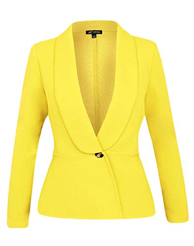 Women Two Pieces Blazers Work Office Lady Suit Business Blazer Jacket&Pant Dark Grey