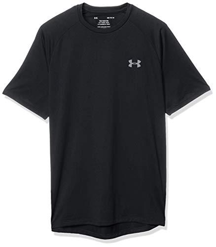 [アンダーアーマー] テック ショートスリーブ Tシャツ(トレーニング) 1358553 メンズ 001 日本 LG (日本サイズL相当)
