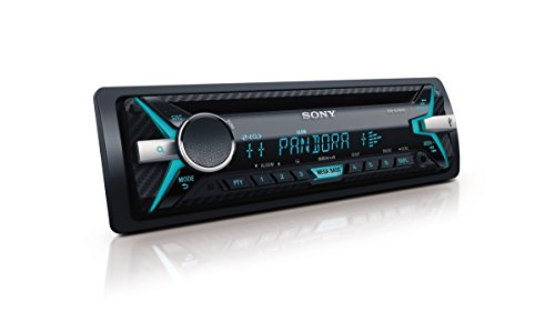 Sony CDX-G3100UP Detachable Car Receiver CD Player MEGA BASS 5 Band EQ - Black