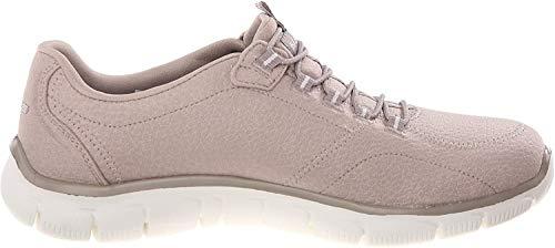 Skechers Empire Take Charge 12407 Zapatillas de deporte Mujer, Beige (tpe), 36 EU (3 UK)