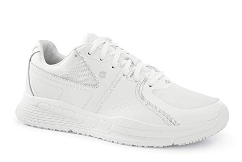 Shoes for Crews 27041-38/5 Condor Womens rutschhemmende Turnschuhe, Größe 38 EU, Weiß