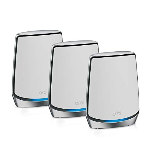 NETGEAR Orbi Whole Home Tri-band WiFi 6 Mesh System (RBK853)...