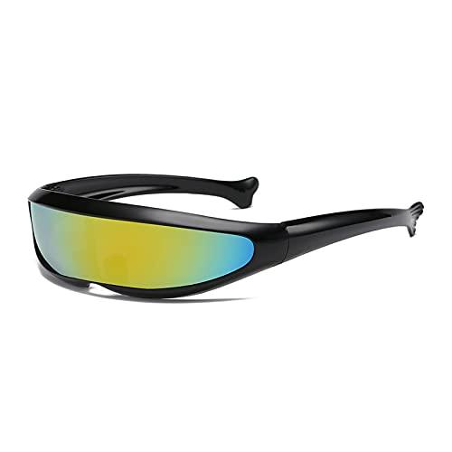 LWZ Moda todo en uno personalidad ligero al aire libre ciclismo gafas de sol, 5