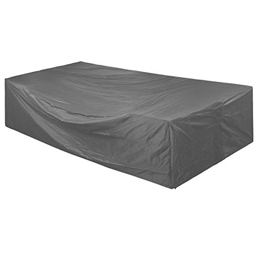 STARTWO Extra Large Patio Furniture Set Cover, Heavy Duty Waterproof Outdoor Sectional Furniture Covers Tear Proof Dust Proof Protective Garden Table Chairs Cover 126x126x28 Inches