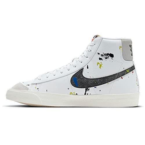 Nike Blazer MID 77 Farbspritzer 2021 DC7331-100, Weiß/Schwarz., 42 EU